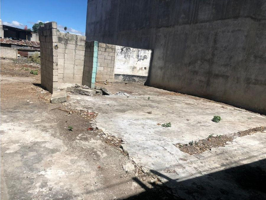 vendo terreno en zona 10 col concepcion