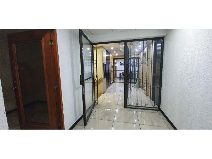 alquiler oficinas reforma montufar zona 10