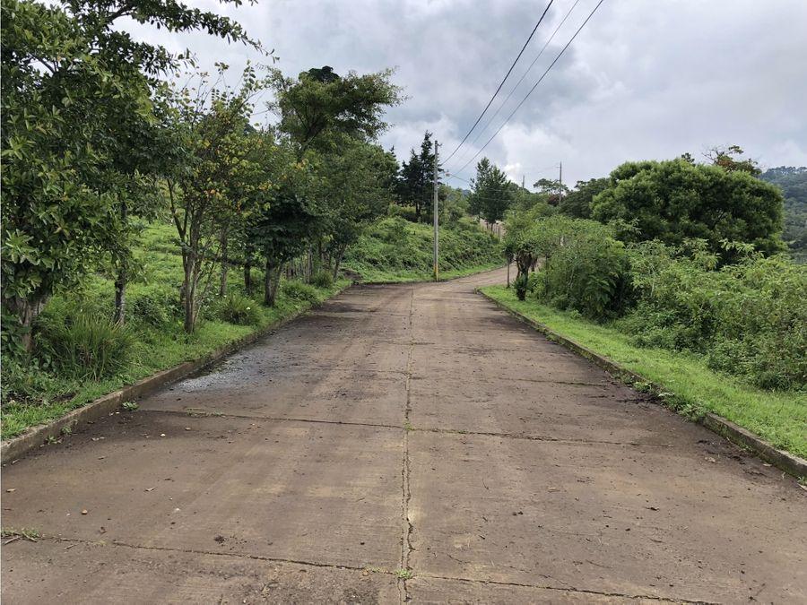 vendo terreno para vivienda en carretera es