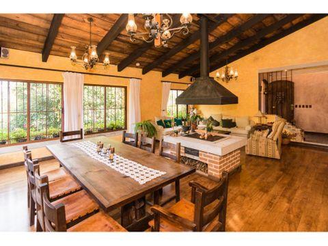 casa tipo granja con terreno grande en venta a 15 minutos de antigua
