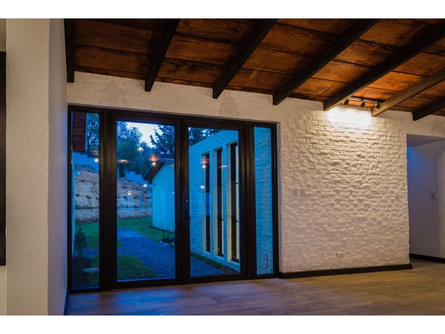 casa nueva en venta a 15 minutos de antigua terreno grande