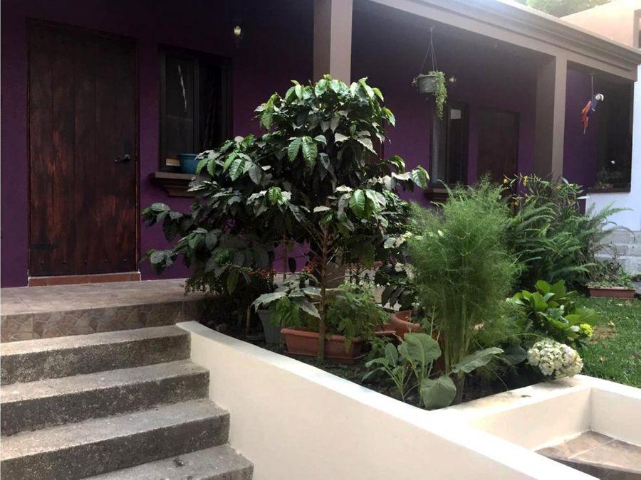 casa tipo colonial en venta complejo la fontana ces