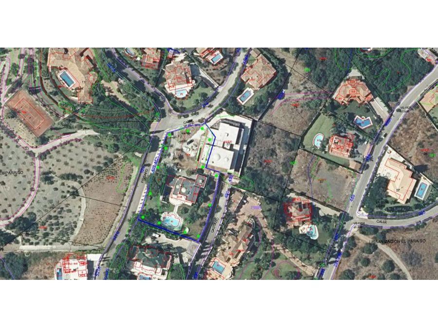 oportunidad en benahavis malaga subasta casa y solar colindante