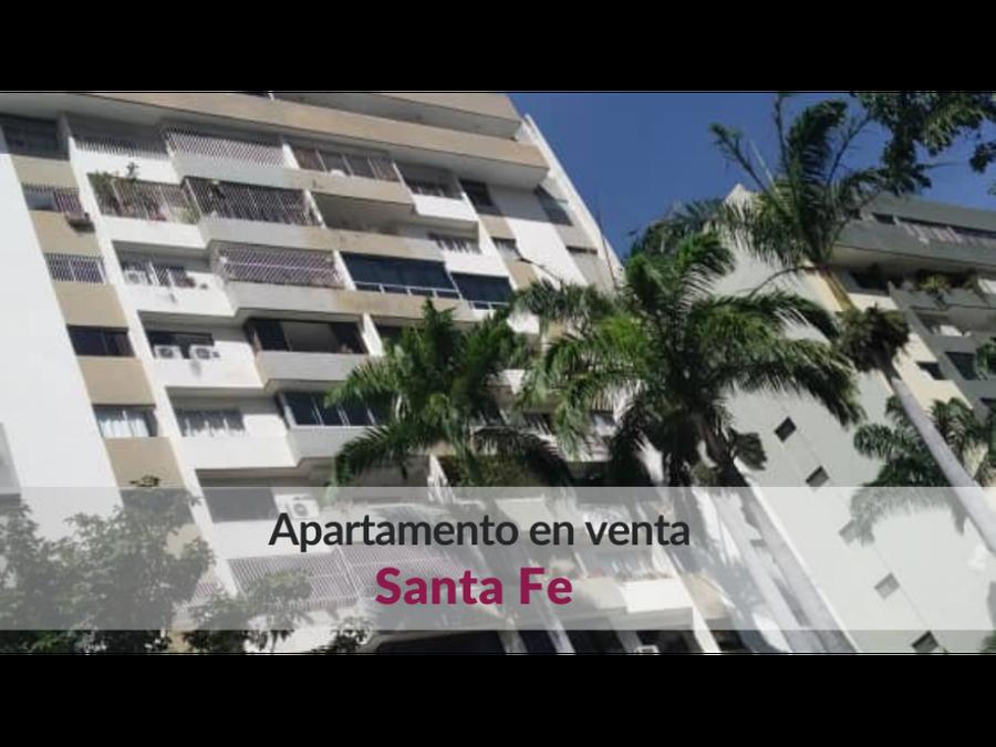 hermoso apartamento en venta en santa fe