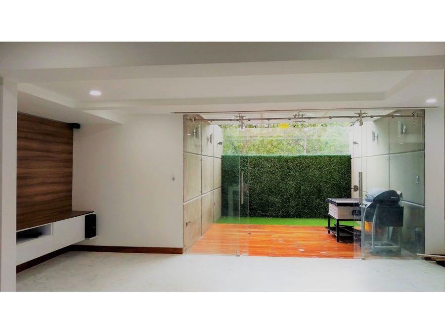 recien remodelado apartamento en venta en santa rosa de lima