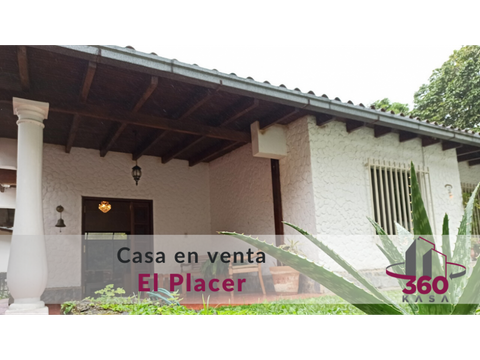 agradable casa de oportunidad en el placer