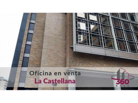 oficina en venta en la castellana