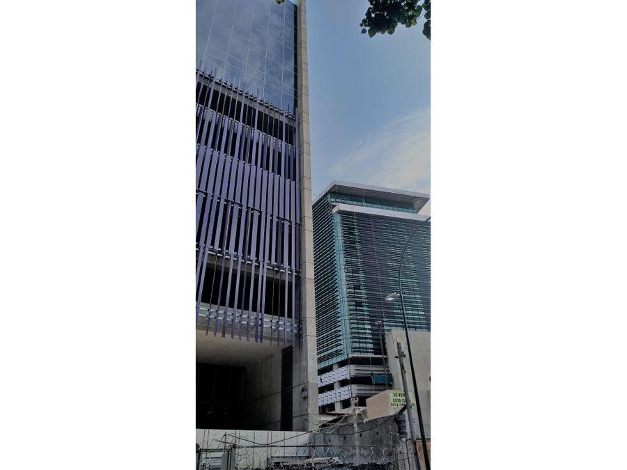 moderno edificio de oficinas a estrenar en las mercedes