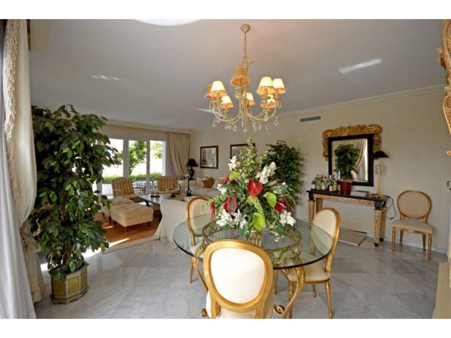 apartamento planta baja the golden milemarbella
