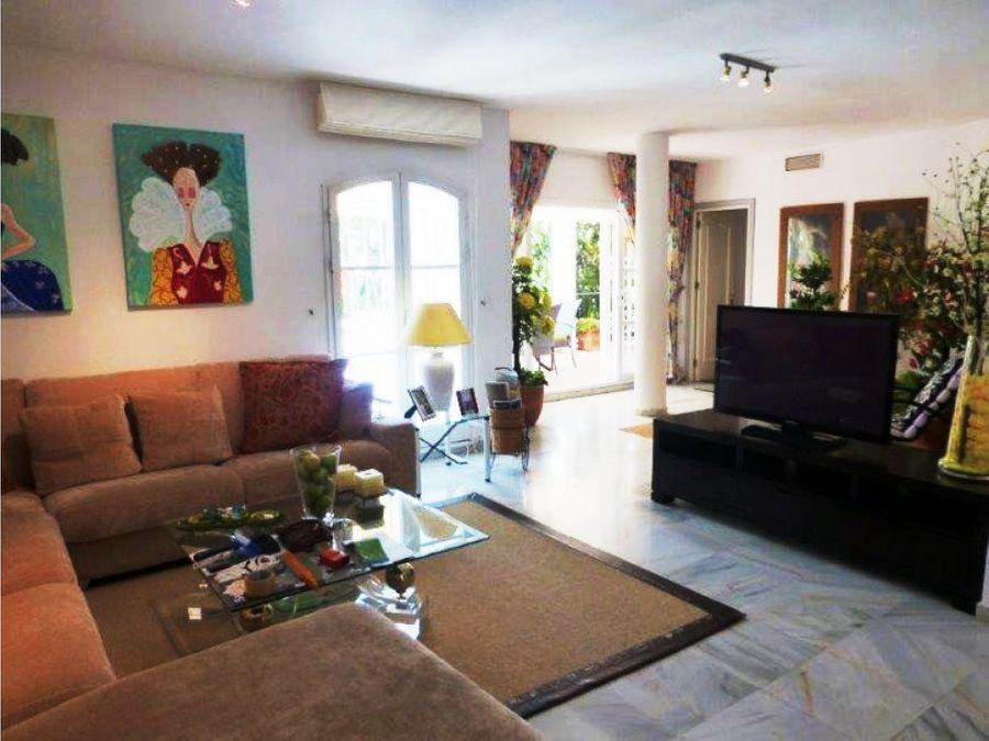 piso 5 habitaciones milla de oro marbella
