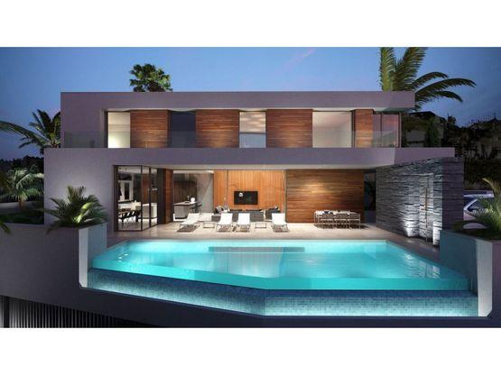 villa independiente de 5 habitaciones en benahavis