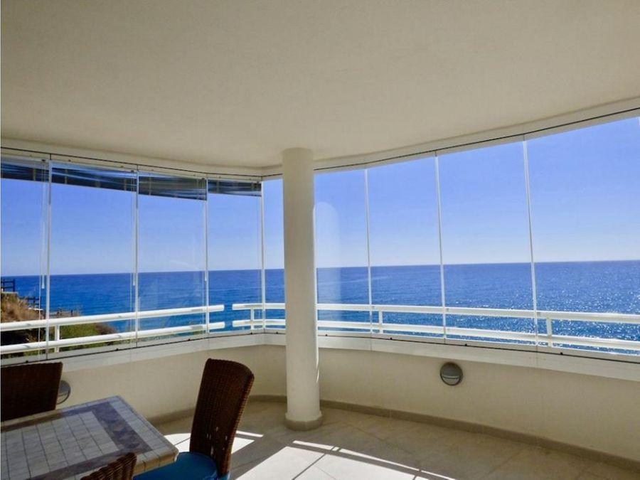 apartamento con increibles vistas al mar