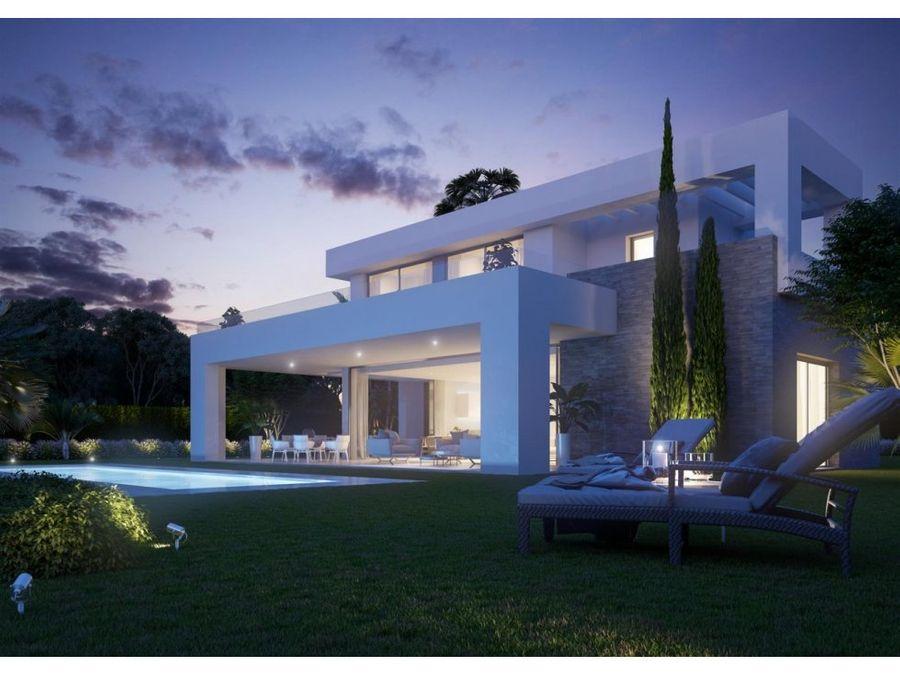 moderno y contemporaneo villas en mijas