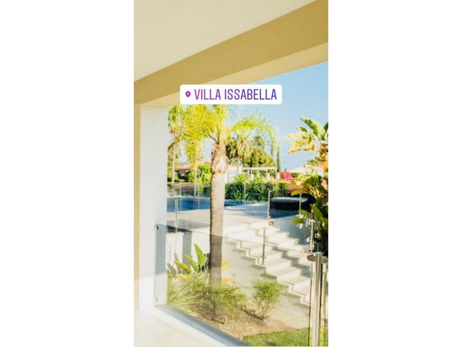 villa issabella lujosa villa alquiler vacacional