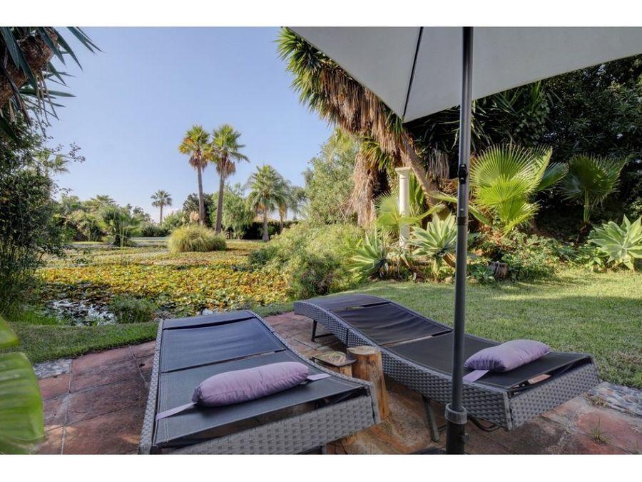 villa chalet the golden mile costa del sol