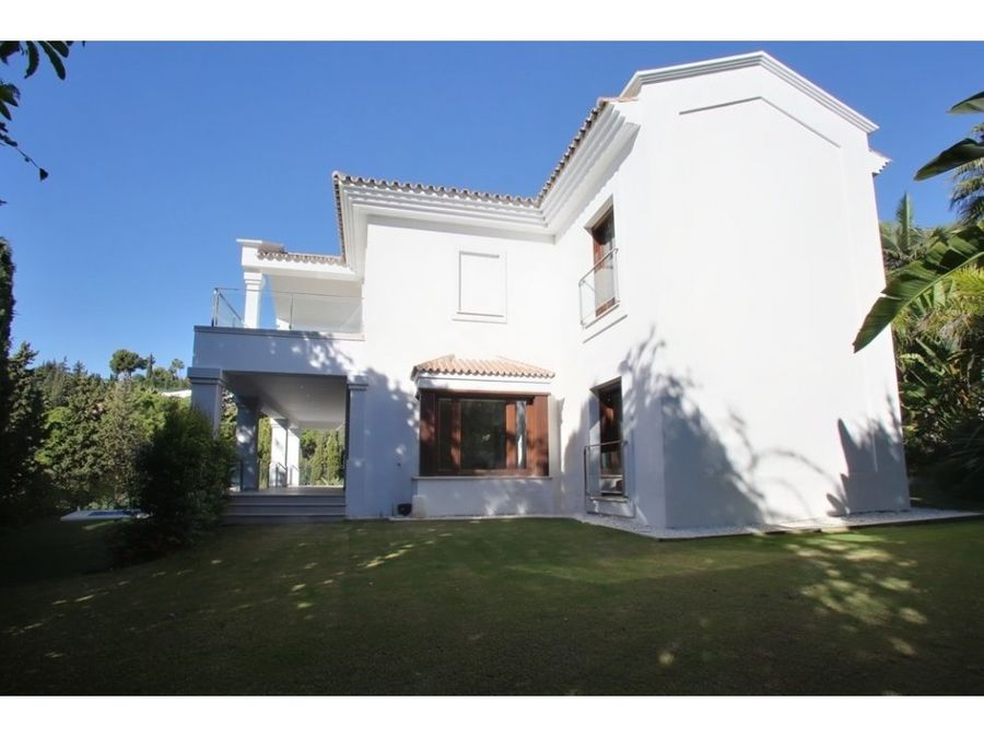 villa chalet the golden mile costa del sol