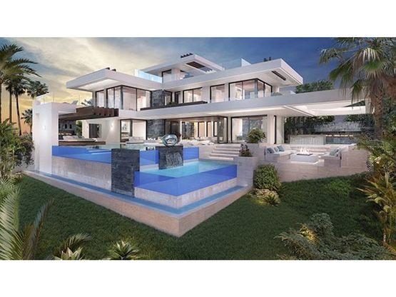 villa independiente de 4 habitaciones en benahavis