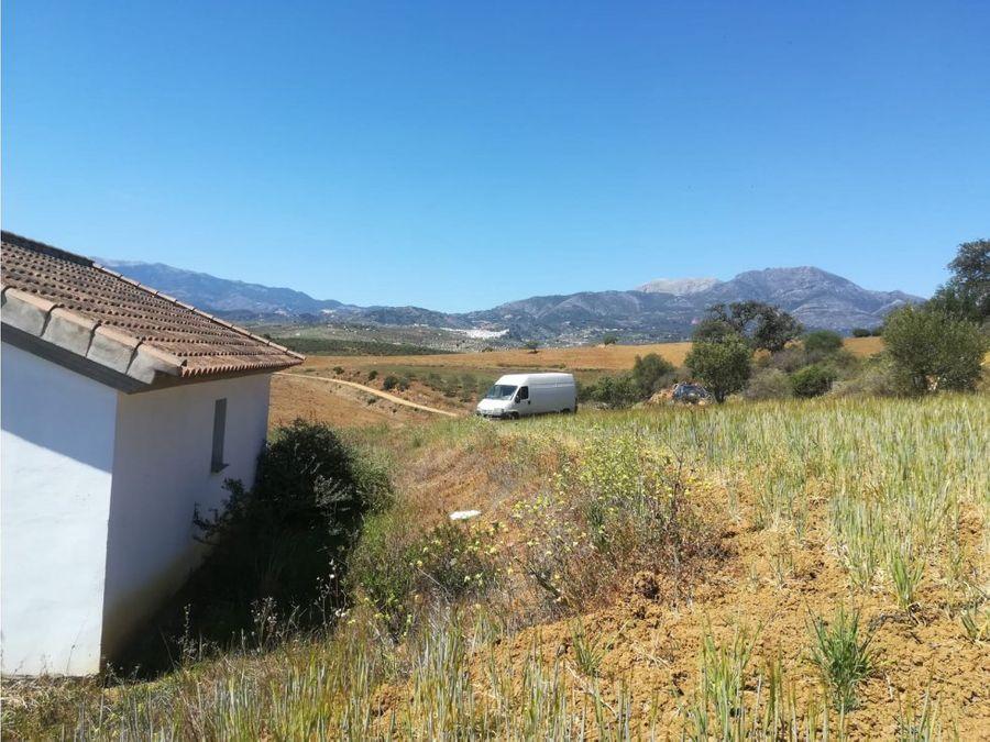 terreno con casa de apero