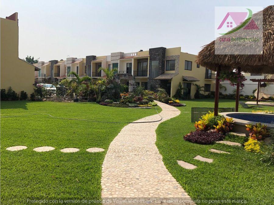 residencial de 20 casas con alberca en morelos