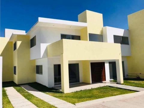 venta de casa en fraccionamiento con vigilancia en jiutepec mor