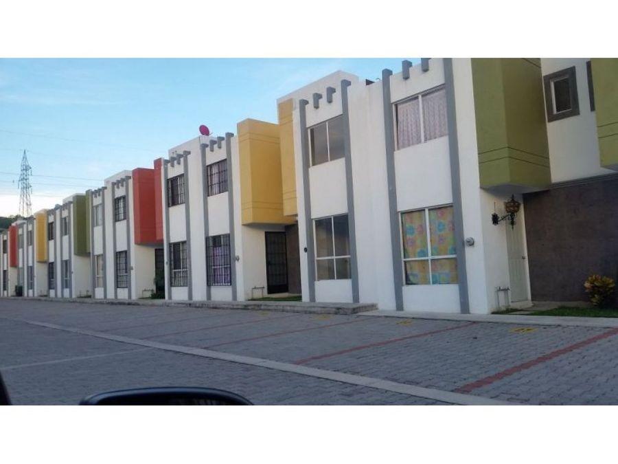 casa en condominio valle de la esmeralda
