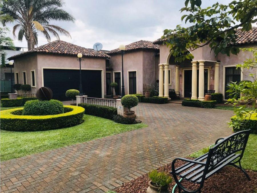 fabulosa casa mediterranea condominio la canada