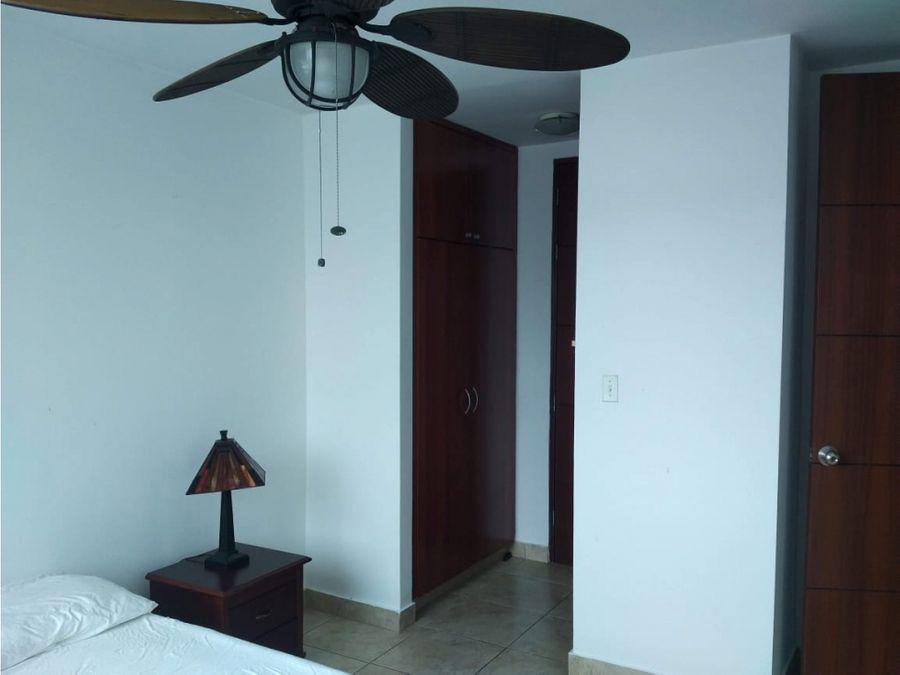 vendo apartamento en el cangrejo amoblado ph marquis tower