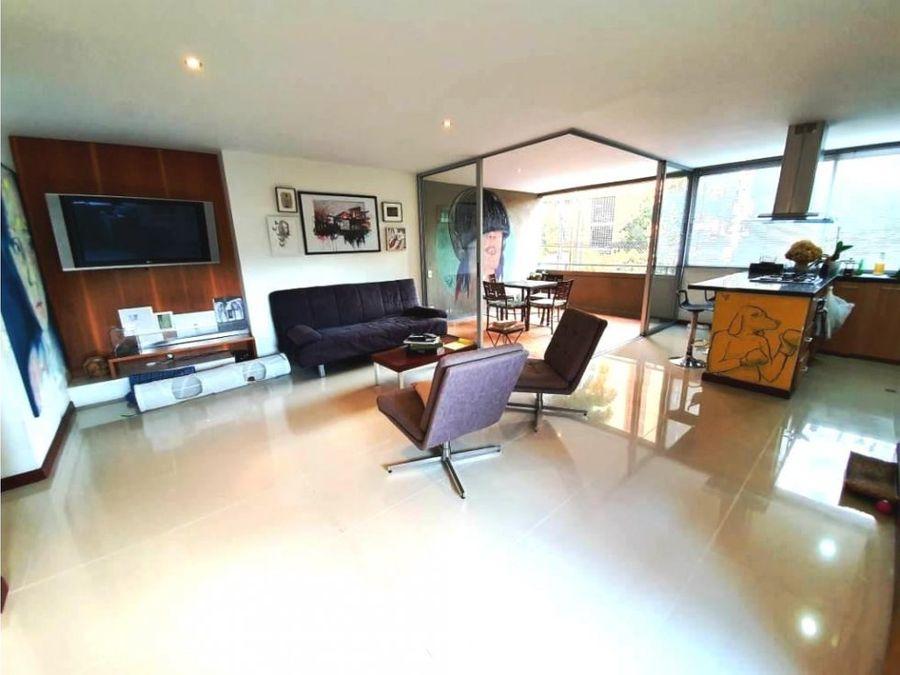 venta apartamento en el poblado 84 metros