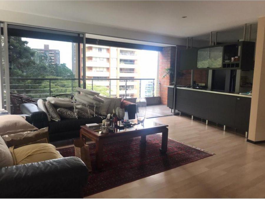 apartamento en venta poblado 136 metros