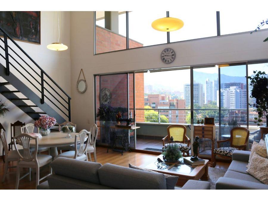 apartamento duplex en venta el poblado medellin 198 m 22 m