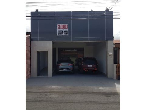 se alquila local comercial heredia centro