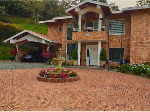 venta casa campestre duplex roble alto retiro