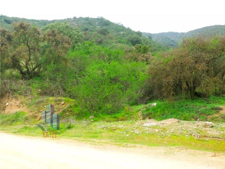 34 hectareas en la aurora curacavi