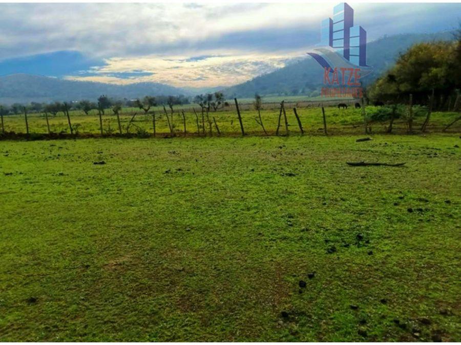 gran parcela agricola plana con casa