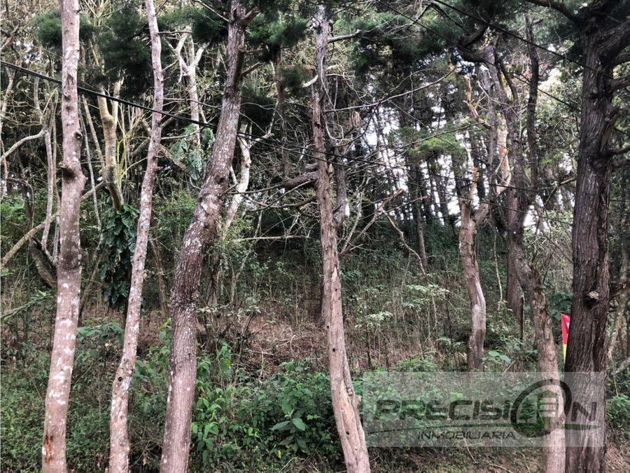 terreno en venta en muxbal condominio los cipreses