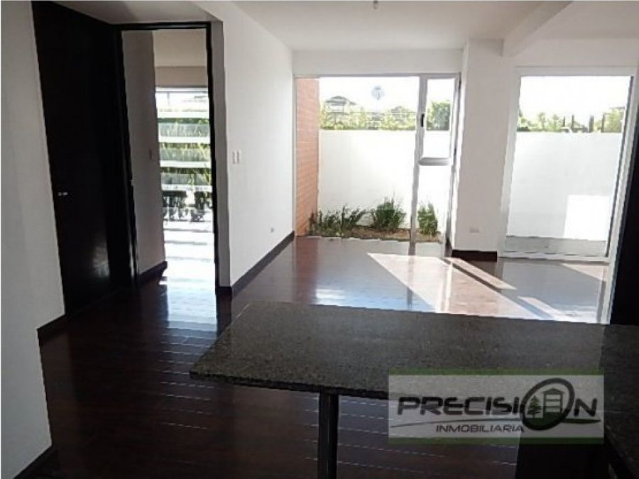 apartamento en alquiler zona 16 edificio caledonia