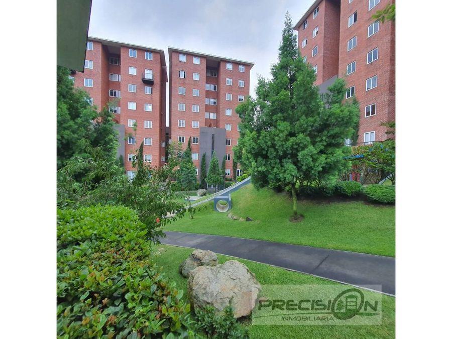 apartamento con jardin en venta zona 16 condominio canada 16