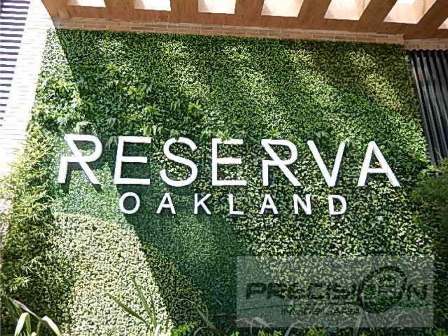 apartamento en alquiler zona 10 reserva oakland