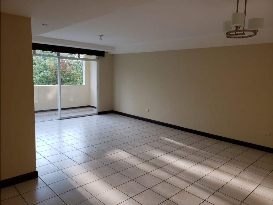 apartamento en alquiler zona 16 condominio villas de san isidro
