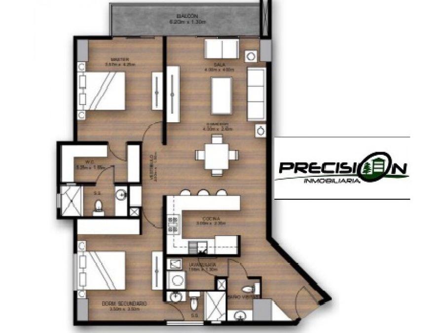 apartamento en venta zona 15 edificio castalia