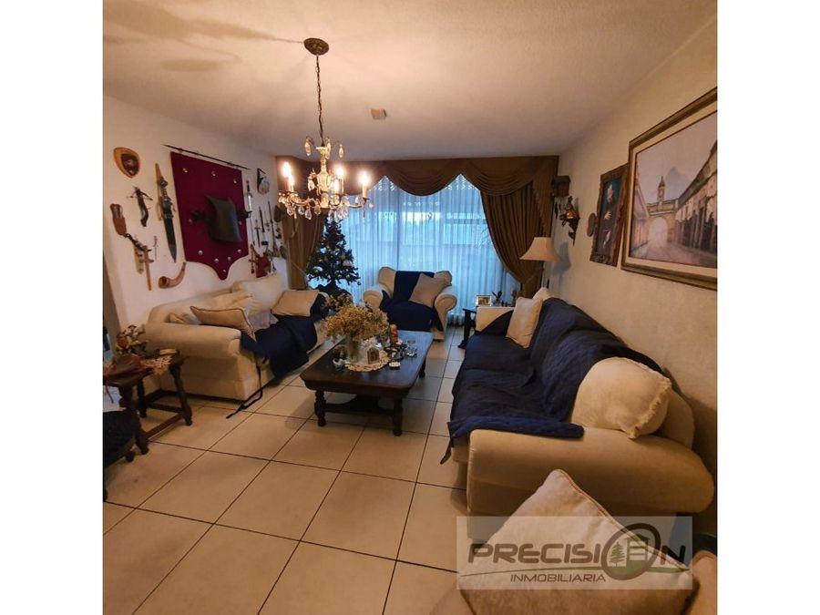 casa en venta zona 16 colonia la montana