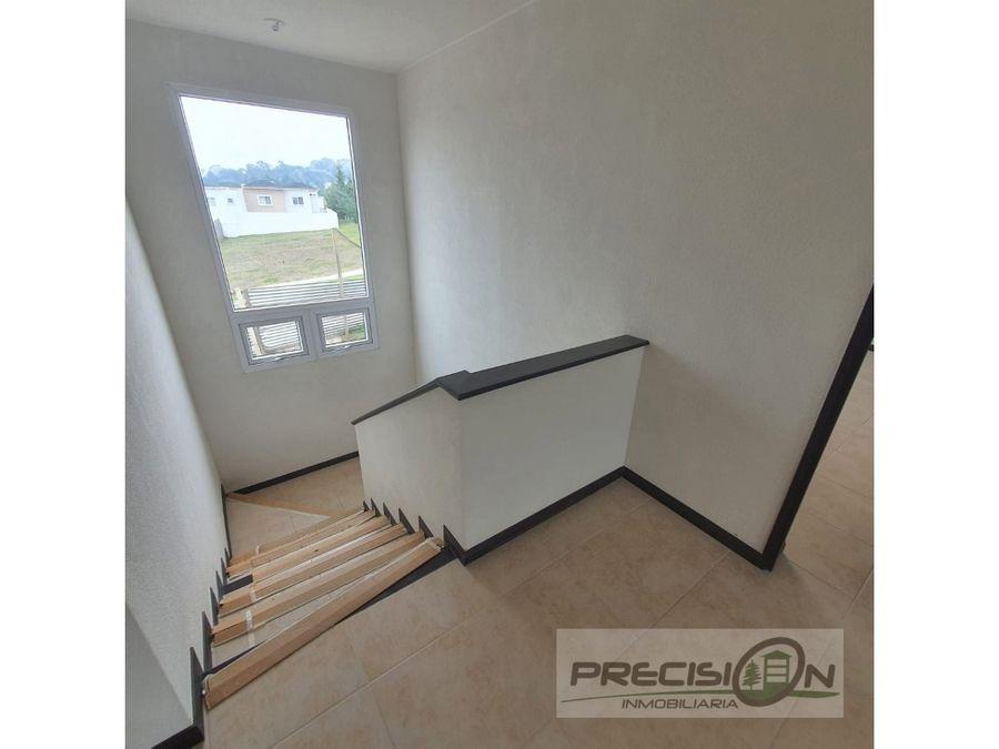 casa nueva en venta km25 condominio la fontana 2