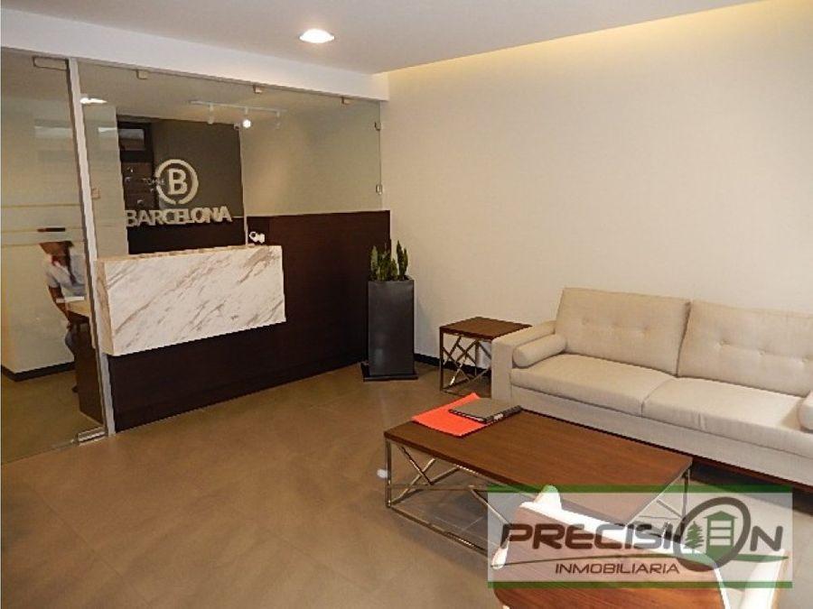 apartamento en venta en zona 9 torre barcelona