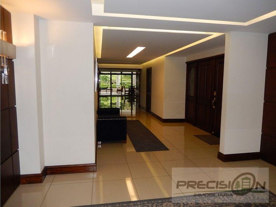 apartamento en zona 14 edificio villamayor