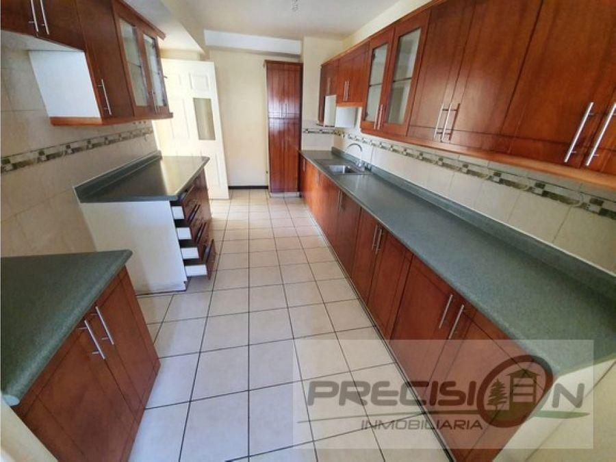 apartamento en zona 16 condominio villas de san isidro