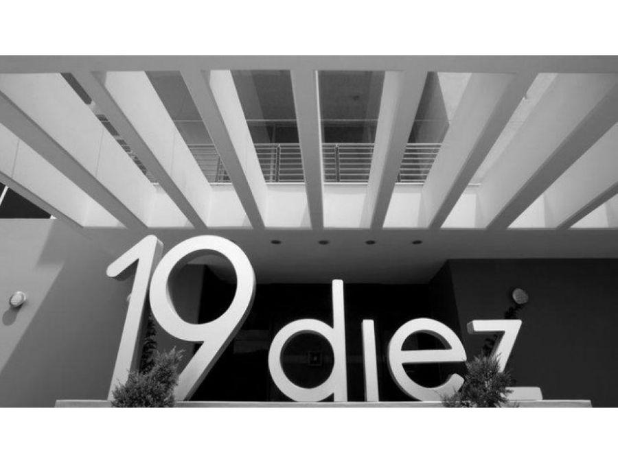apartamento en alquiler zona 10 edificio 19diez
