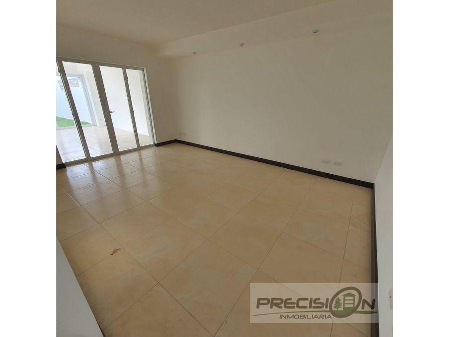 casa nueva en venta en km 25 condominio la fontana 2