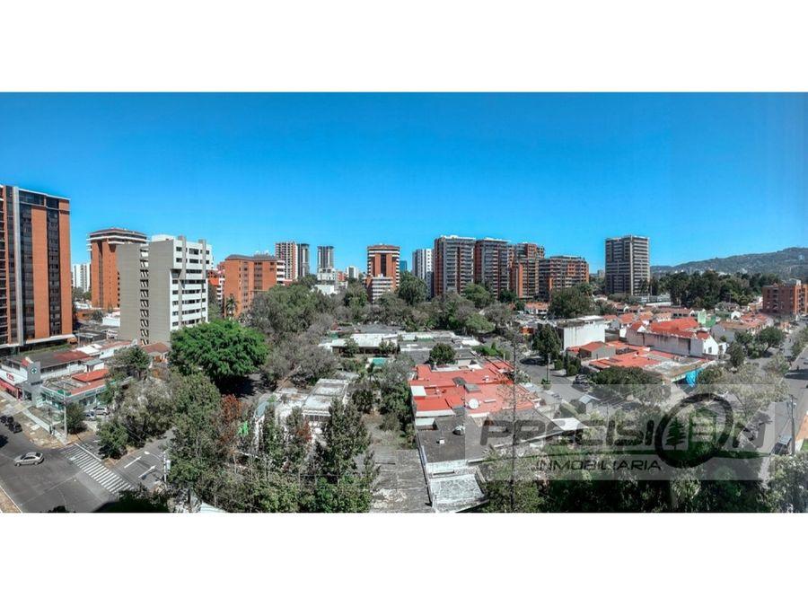 apartamento en alquiler zona 14 edificio pacifica plaza