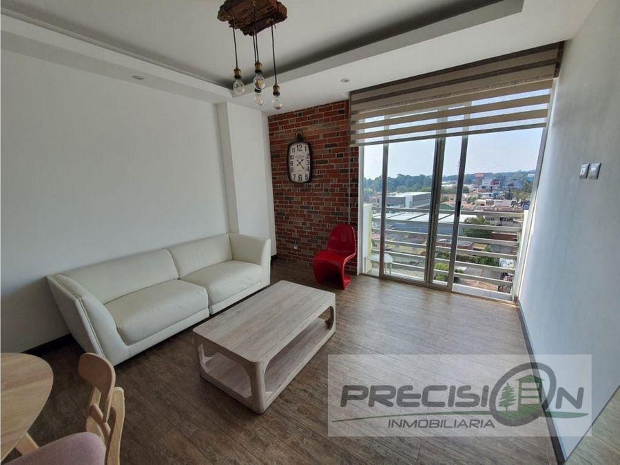 apartamento amueblado en alquiler km145 edificio destiny sky homes