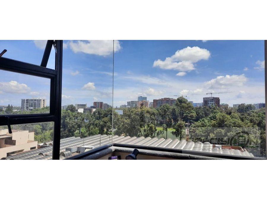 apartamento en alquiler zona 14 edificio santorini americas